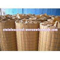 Buy cheap Light Weight Stainless Steel Welded Wire Mesh 3 X 3 For Fencing Long Service Life from wholesalers