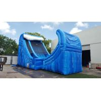Buy cheap Huge 27 Ft Tall Wave Rider Inflatable Water Slides With Air Pump And Repair Material from wholesalers