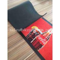 Buy cheap Colorful Molded Rubber Products Home Pub Bar Mat , Personalized Beer Drip Kitchen Rubber Mats from wholesalers