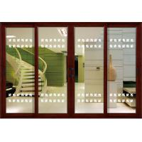 China 1.4mm profile thickness aluminium sliding glass doors with grilles, shutters, fly screen on sale