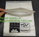 Buy cheap PLA compostable Clear poly custom printed plastic ziplock bags,APPAREL Dress Ziplock Bag,garment packaging bag, bagease from wholesalers