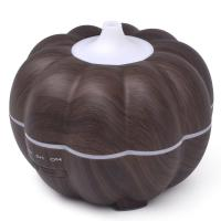 Wholesale Pumpkin 7 Colors Aromatherapy Disinfectant Machine Air Humidifier 300ML Wood Grain from china suppliers