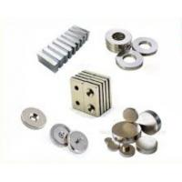 Buy cheap Strong NdFeB Permanent Magnet / Neodymium Button Magnets Customized Sizes from wholesalers