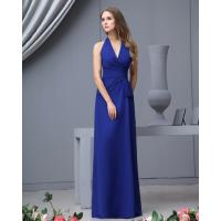 Buy cheap Cheap Deep V Neck Royal Blue A Line Multi Colored Bridesmaid Dresses Online Shop from wholesalers