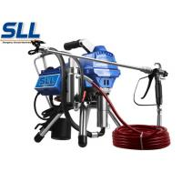 Buy cheap Industrial Cement Plaster Mortar Spraying Machine Diaphragm Airless Putty Sprayer from wholesalers