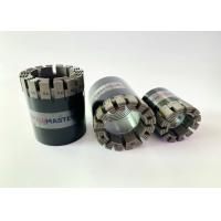 Buy cheap Turbo Profile Impregnated Diamond Core Bit High Efficieney Wire Line Drilling from wholesalers