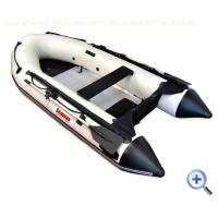 Buy cheap heavy duty hard floor Inflatable pvc Boat from wholesalers