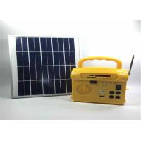 Buy cheap Mini Complete Off Grid Solar System With Batteries Radio Function from wholesalers