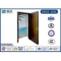 Wholesale Strong Visual Sense Fire Resistant Wooden Doors For High - Rise Civil Building from china suppliers