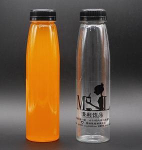 350ml Clear Plastic Water Fruit juice beverage bottle, 350ml PET Beverage bottles Manufactures