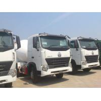 Buy cheap Sinotruk HOWO 6x4 Concrete Mixer Trucks Concrete Mixing Equipment in White,8 Cubic Meters from wholesalers
