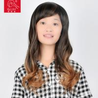 Buy cheap Glueless Lace Front Wigs Human Hair Janet Blonde Deep Wave With Middle Bang from wholesalers