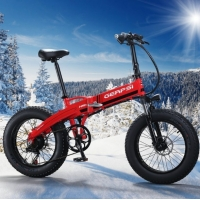 Buy cheap Lithium Battery 4.0 Fat Tire 500w Folding Electric Bike from wholesalers