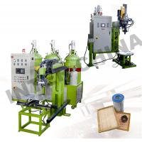 Buy cheap Polyurethane Foam machine for end cover of filter from wholesalers
