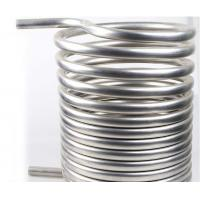 Buy cheap High quality Gr2 titanium twist heat exchanger coil for Condenser from wholesalers