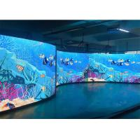 Buy cheap Smd Full Color Led Digital Display Board P5mm Indoor Fixed Concave With Steel Panel from wholesalers