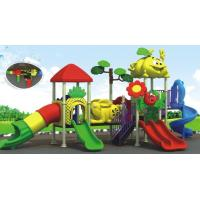 Buy cheap beautiful daycare outdoor equipment plastic outdoor playground equipment from wholesalers