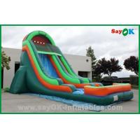 Buy cheap Giant Inflatable Water Slide Fire Resistant Toddler Inflatable Bouncer Rentals from wholesalers