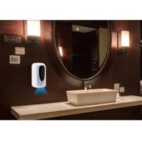 Buy cheap Alcohol Touch Free Soap Dispenser Wall Mounted , Automatic Soap Dispenser Touchless from wholesalers
