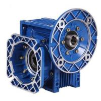 Buy cheap Single Stage RV Reducer Worm Gearbox with blue or cuotomized coulor in cast iron from wholesalers