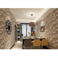 China Nonwoven Modern Removable Wallpaper For Bedding Room With Foam on sale