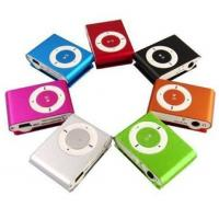 Buy cheap Colorful Clip MP3 Multimedia Player With Micro SD / TF Card, U Disk Functions from wholesalers