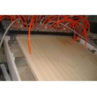 Buy cheap Plastic WPC Foam Board Machine / Conical Twin Screw WPC Board Production Line from wholesalers