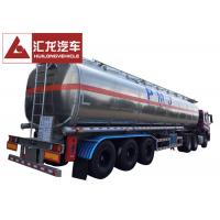 Buy cheap 50000 L 5 Compartments Aluminum Fuel Tank Trailer Large Carrying Capacity from wholesalers