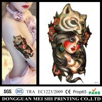 Buy cheap Full Colors Large Size Arm Temporary Tattoo Stickers Water Based Decal from wholesalers