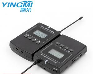 Wholesale 300M Distance Two Way Interpreter Wireless Audio Guide System Ear Hanging from china suppliers