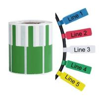 Buy cheap Custom P-Type Flag Labeling Tag For Patch Cord for Wire Identification from wholesalers