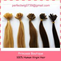 Buy cheap best price good quality pre-bonded keratin human hair extension nail hair /U-tip hair from wholesalers