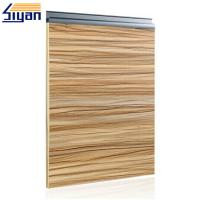 Buy cheap Wood Grain Modern Bathroom Cabinet Doors Sliding Open With 57mm Width from wholesalers
