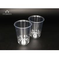 Wholesale Customized Individual Disposable Cold Cups , Clear Plastic Drinking Cups from china suppliers