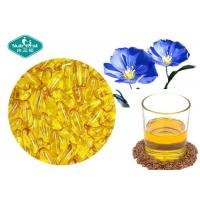 Buy cheap Essential Omega 3 Fish Oil Capsules Flaxseed Oil Capsules Supports Cardiovascular System from wholesalers