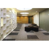 Buy cheap Nylon PP Commercial Office Carpet Tiles With Bitumen Backing Dust Absorption from wholesalers