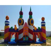 Buy cheap Commercial Grade Inflatable Amusement Park Outdoor Party Event Inflable from wholesalers