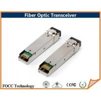 Buy cheap Multimode BiDi LC SC Fiber Optic Single Fiber SFP Transceiver 1.25Gbps with SMF from wholesalers