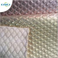 Buy cheap Eco Friendly  Diamond Stitch Leather UV Resistant Antibacterial Water Proof from wholesalers