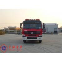 Wholesale Max Speed 90KM/H Tanker Fire Truck , Heavy Rescue Fire Truck Wheelbase 4600mm from china suppliers