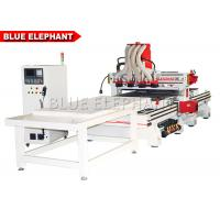 Buy cheap ELE 1330 Multi - Head CNC Router for furniture making , automatic wood door making machine from wholesalers