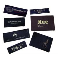 China High Density Clothing Woven Labels on sale