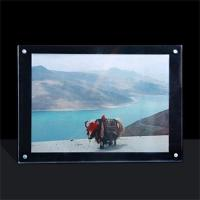 Buy cheap acrylic photo frame perspex photo frame for Christmas gift from wholesalers