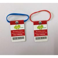 Buy cheap Rubber band with lable, tag rubber band for vegetable tying from wholesalers