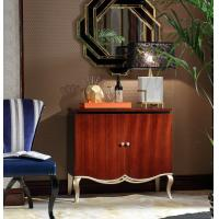 Buy cheap Luxury furniture for Villa house Reception table and Console cabients by Ebony wood in Glossy painting Sliver leaf from wholesalers