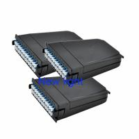 Buy cheap MTP MPO Cassette Module With Patch Cord Connector And Corning Fiber Optic Cable from wholesalers