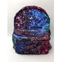 Wholesale Women Polyester Laptop Bag Dazzling Sequin Backpack With Sequin Material from china suppliers