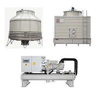 Buy cheap 150 Ton FRP Round Count Flow Type Cooling Tower from wholesalers