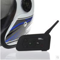 Buy cheap helmet headset/motorcycle intercom reviews/bluetooth motorcycle headset 1200m for 4 riders from wholesalers