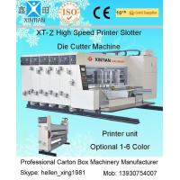 Buy cheap Cardboard Sheets Flexo Printing Machine Printer Slotter Machine from wholesalers